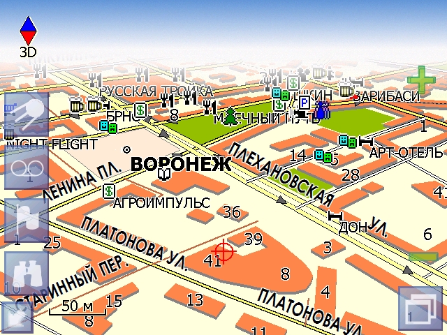 Карта схема г воронеж фото 592
